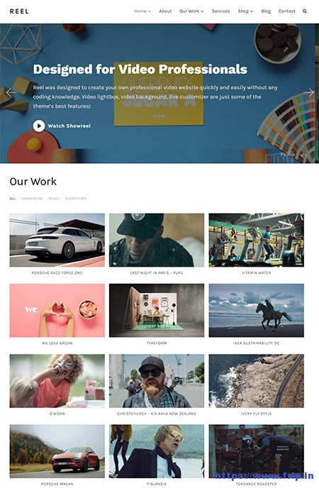 Reel-Video-Portfolio-WordPress-Theme