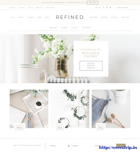 Refined-WordPress-Theme