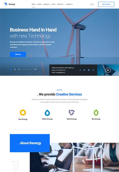 Renergy-Solar-Energy-WordPress-Theme
