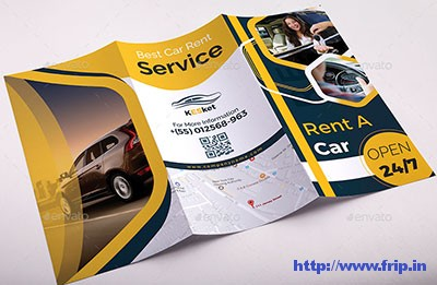 Rent-a-Car-Trifold-Brochure-Template