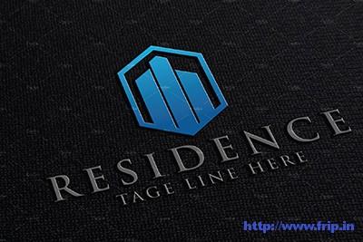Residence-Real-Estate-Logo-template