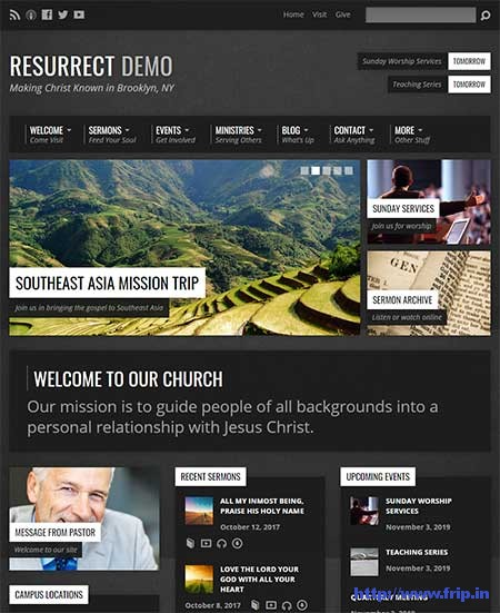 Resurrect-Church-WordPress-Theme