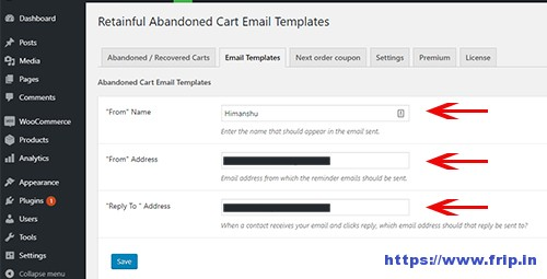 Retainful-Email-Template-Name-&-Email-Address