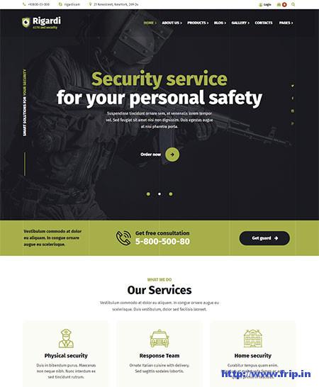 Rigardi-CCTV-Security-Company-Theme