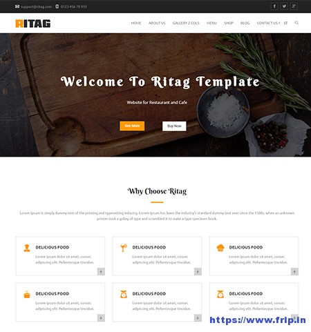 Ritag-Coffee-&-Restaurant-WordPress-Theme