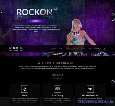 RockOn-WordPress-Theme