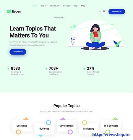 LearnPress WordPress Themes