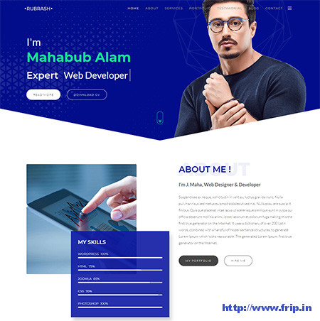 Rubrash-WordPress-Theme