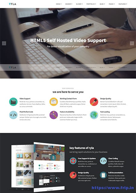 Ryla-Multi-Purpose-Website-Template