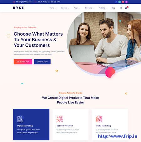 Ryse-Digital-Marketing-Theme