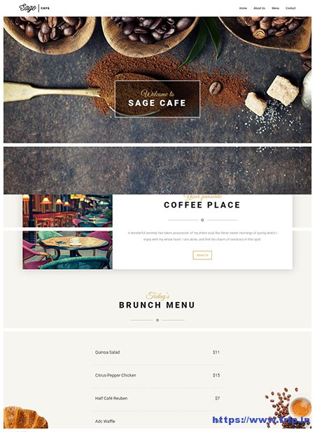 Sage-Restaurant-WordPress-Theme