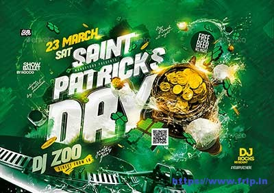 Saint-Patricks-Day-Flyer-Template