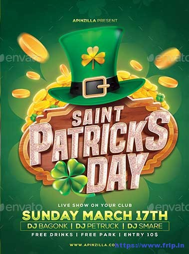 Saint-Patricks-Day-Flyer-Templates