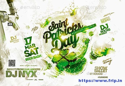 Saint-Patricks-Party-Flyer