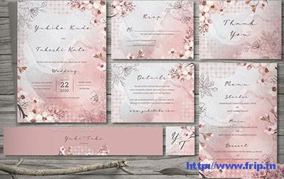 Sakura-Wedding-Invitation-Set