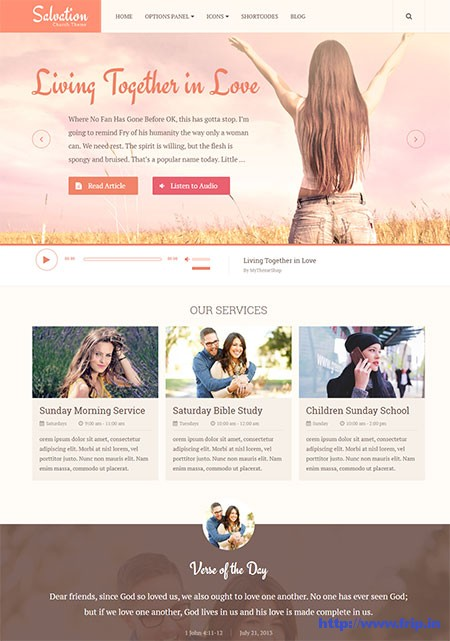 Salvation-Church-WordPress-Theme