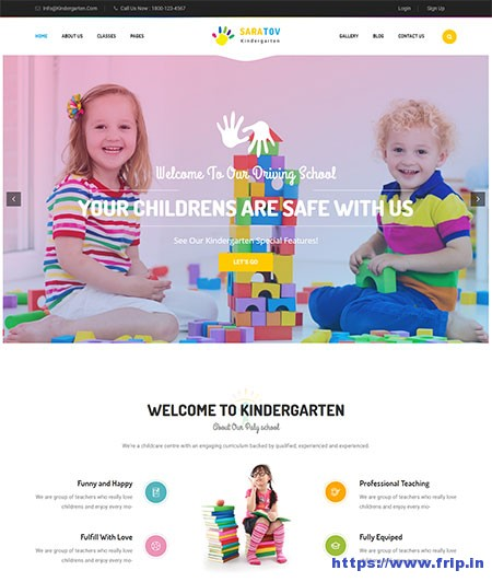 Saratav-Kindergarten-School-WordPress-Theme