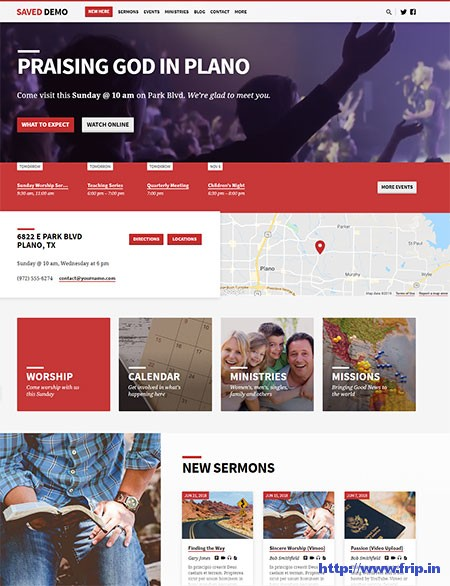 Saved-Church-WordPress-Theme