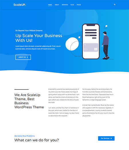 Scaleup-WordPress-Business-Theme