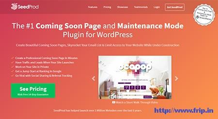 SeedProd Coming Soon Page WordPress Plugin
