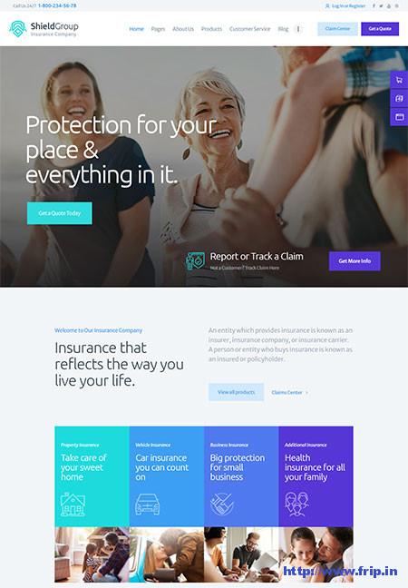 Shield-Group-Insurance-Company-WordPress-Theme