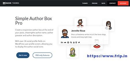 Simple-Author-Box-Pro-Plugin