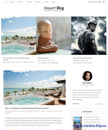 Smart-Blog-WordPress-Theme