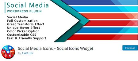 Social-Media-Icons-Widget