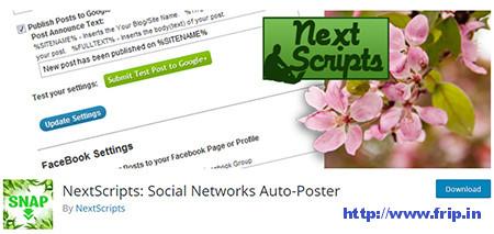 Social-Network-Auto-Poster-Plugin