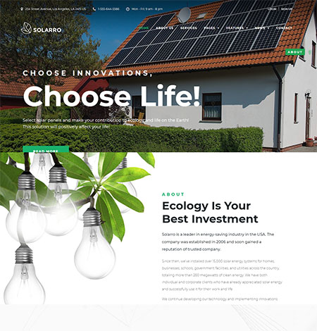 Solarro-Solar-Energy-WordPress-Theme
