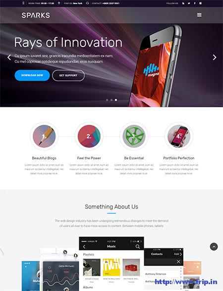 Sparks-App-Development-Theme