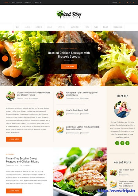 Spiced-Blog-Recipes-WordPress-Theme