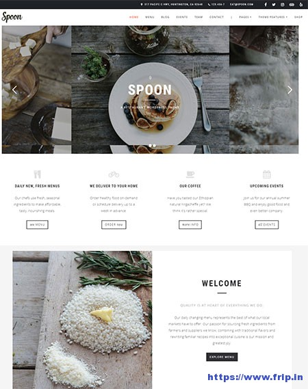 Spoon-Restaurant-WordPress-Theme
