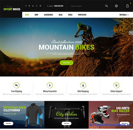 Sport-Bikes-Sports-&-Fitness-WooCommerce-Theme