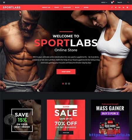 Sportlab-WooCommerce-Theme