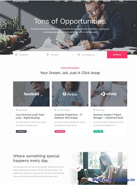 Staffscout-Job-Board-WordPress-Theme
