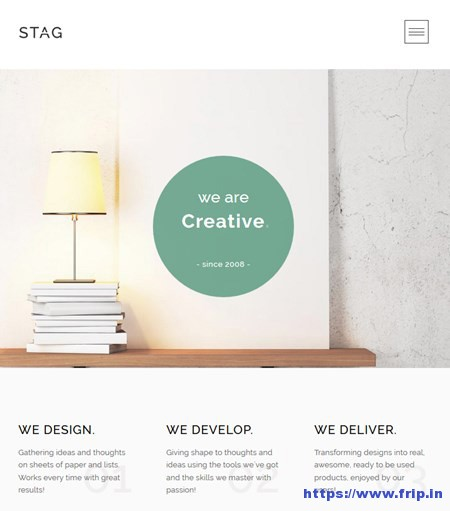 Stag-Portfolio-WordPress-Theme