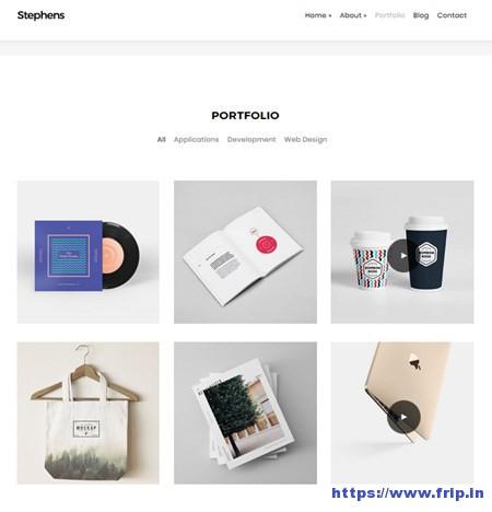 Stephens-Portfolio-WordPress-Theme