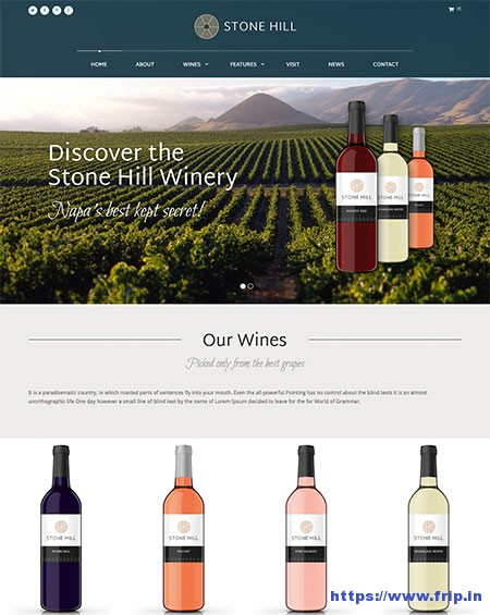 Stone-Hill-Vineyard-WordPress-Theme