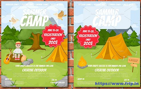 Summer-Camp-Two-Flyers