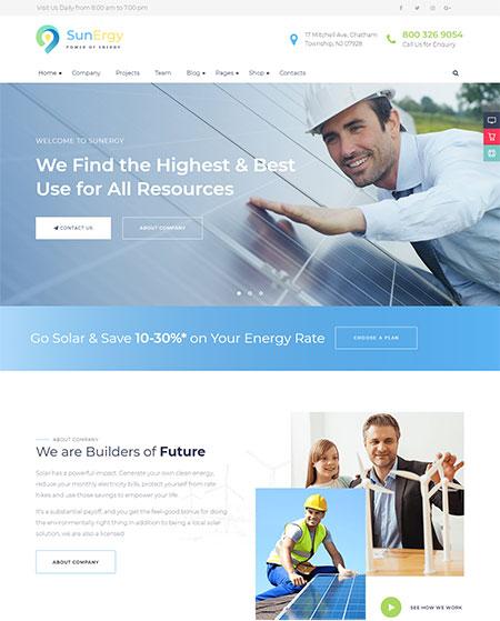 Sunergy-Solar-Energy-WordPress-Theme