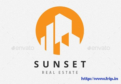 Sunset-Real-Estate-Logo-template