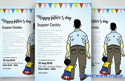 Super-Dad-Fathers-Day-Flyer