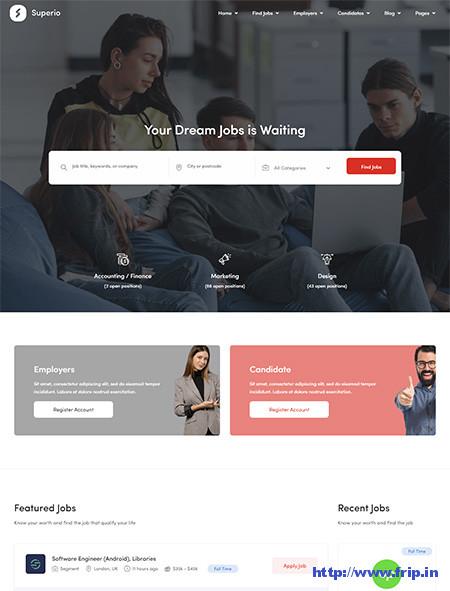Superio-Job-Board-HTML-Template