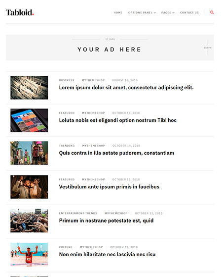 Tabloid-Minimal-WordPress-Theme