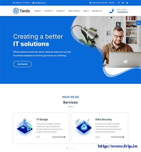 Tanda-IT-Solutions-WordPress-Theme