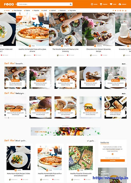 Tasty-Food-Recipes-&-Blog-WordPress-Theme