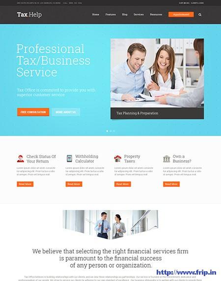 Tax-Help-Finance-&-Accounting-WordPress-Theme