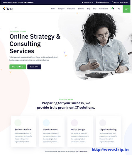 Teba-IT-Solutions-&-Services-Theme