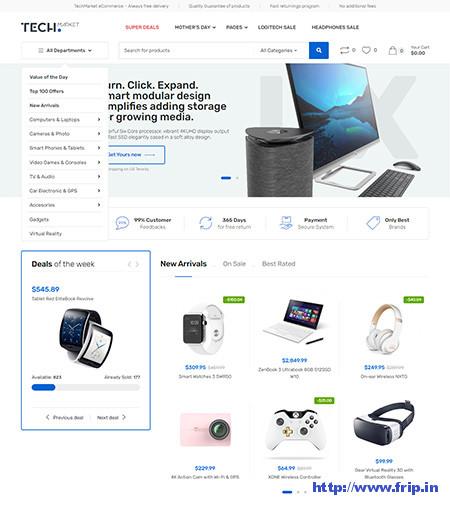 Techmarket-Electronics-WooCommerce-Theme